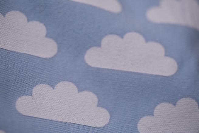 Blue Clouds Bandana Bib