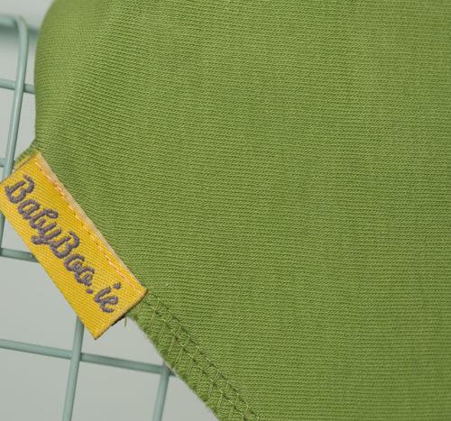 green bandana bib