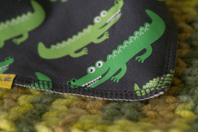 alligator bandana bib
