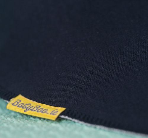 large navy bandana bib