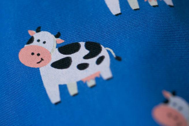 Bessie cow bandana bib