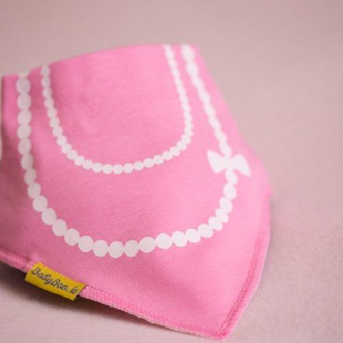 Fancy little lady bandana bib