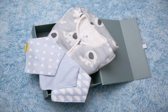 boys bib bundle luxury gift box
