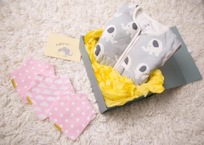 Luxury gift box girl bundle bandana example