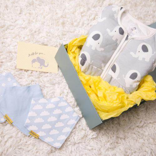 luxury gift box boy bandana example