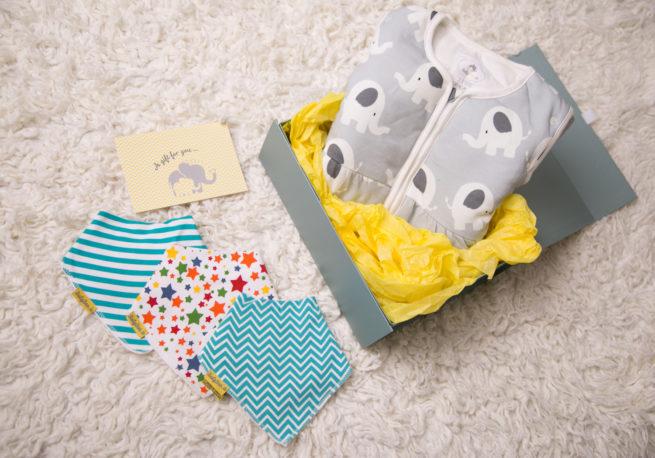 luxury gift box neutral bandana example