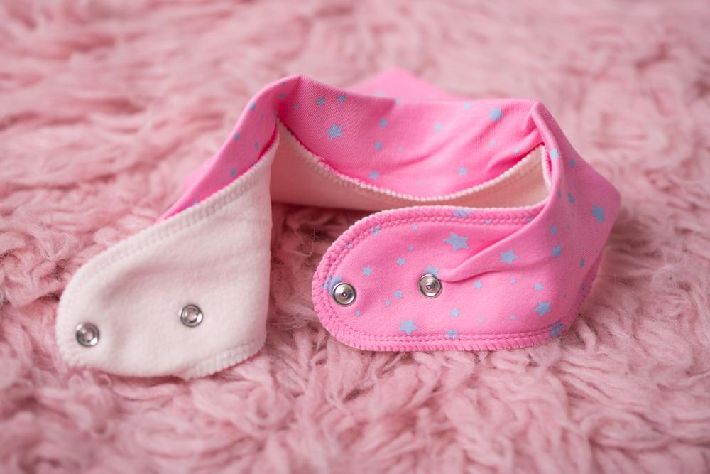 Pink Rocking Horse Bandana Bib Babyboo Ie