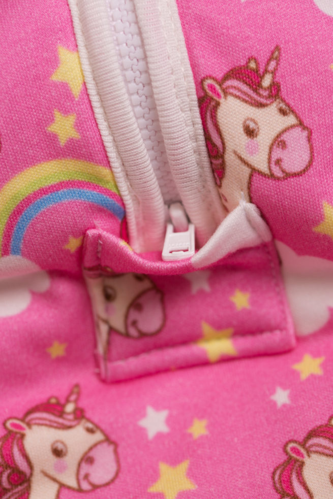 zip cover unicorn snuggleboo