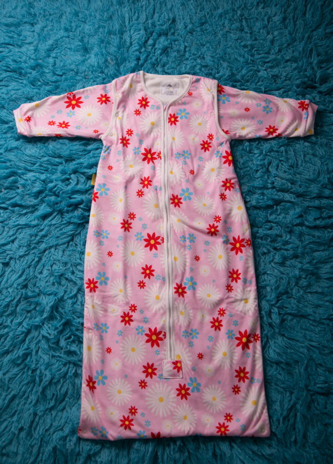 Pink Summer Flowers SnuggleBoo Sleeping Bag