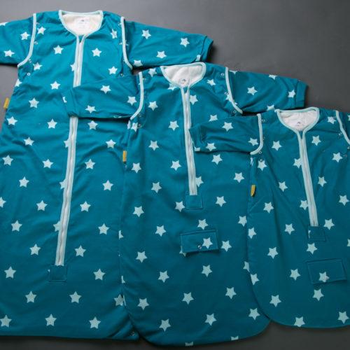 Teal stars SnuggleBoo Sleeping Bag