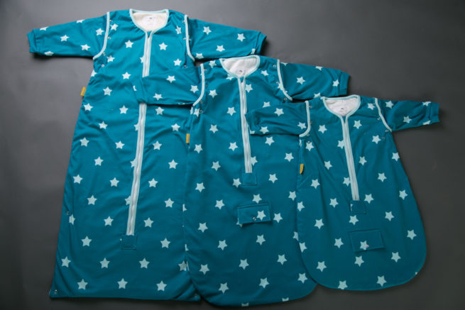 Teal stars SnuggleBoo Sleeping Bag