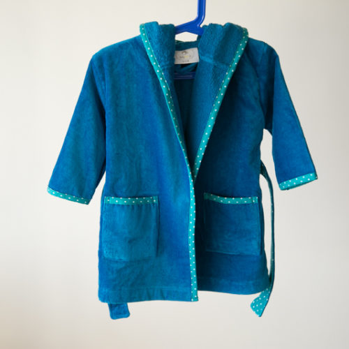 Organic cotton robe