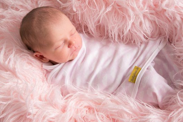 Up in the pink clouds swaddle