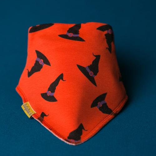 Witches hats Halloween bandana bib