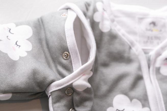 detachable sleeves sleepy clouds sleeping bag