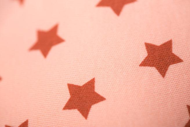 Cinnamon stars bandana bib