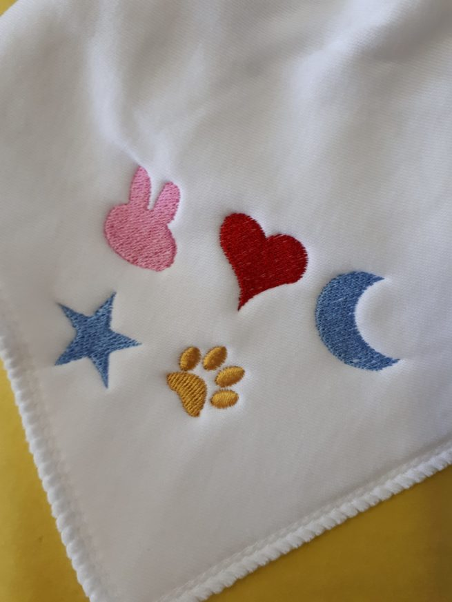 Icons for embroidery