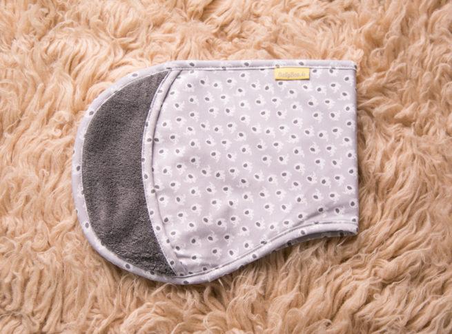 Grey Ellie Burp Towel