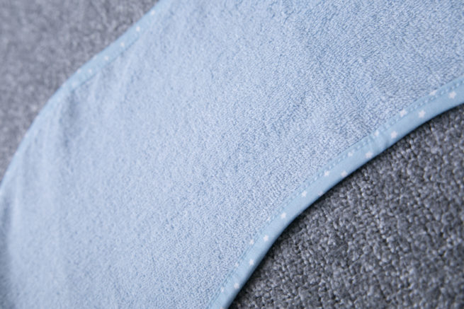 Baby Blue Burp Towel