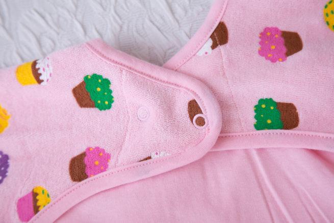 Pink Cupcakes YummyBoo Feeding Bib