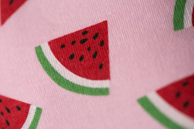 Pink Watermelons Bandana bib