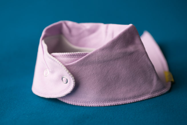 Just lilac Bandana bib