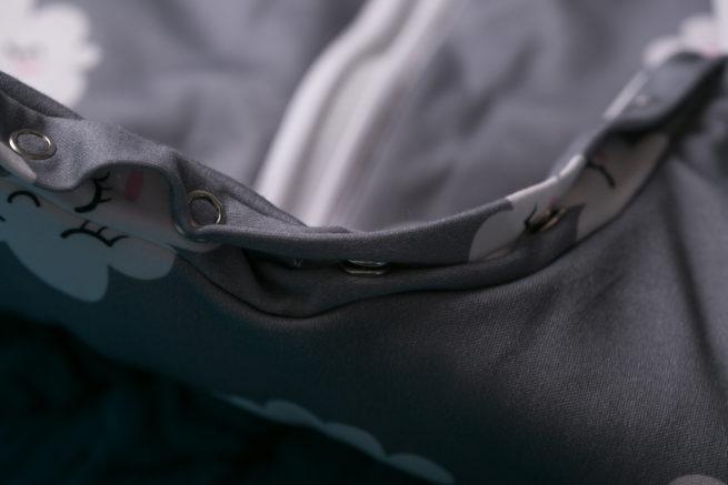SnuggleBoo sleepsuit Sleepy clouds