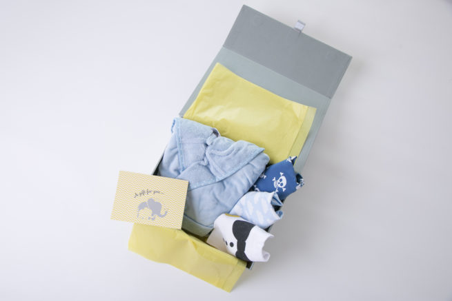 Luxury gift box with robe