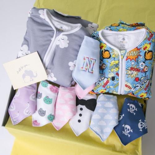 Luxury twin birthday gift box