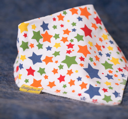 Superstars dribbleboo bandana bib