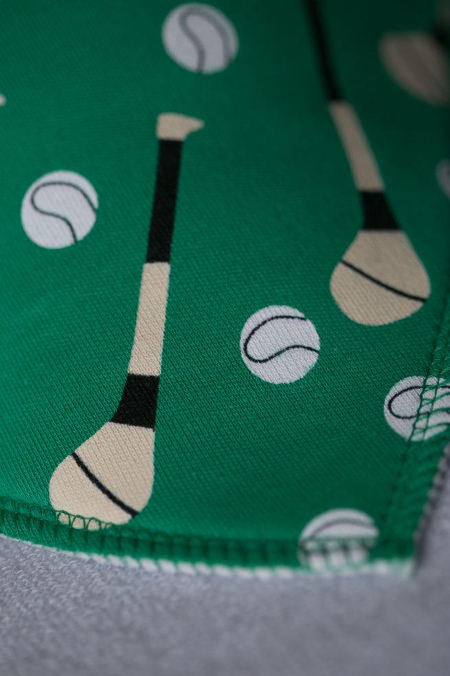 GAA Hurling organic cotton bandana bib