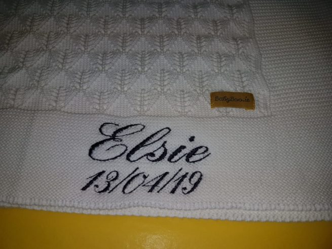 Personalised blanket
