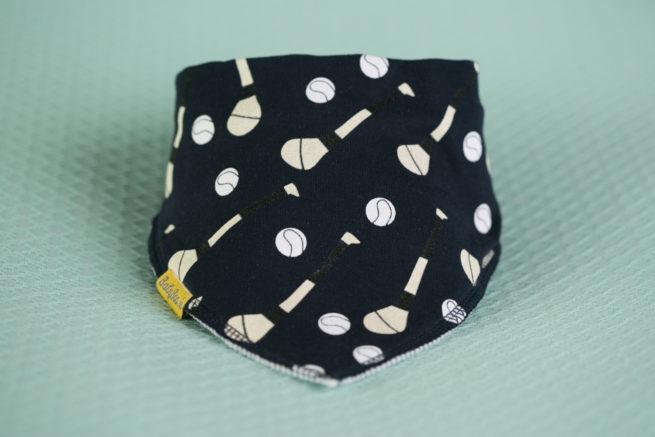 Navy GAA organic cotton bandana bib