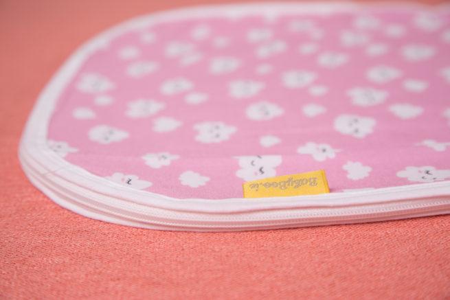 Pink clouds organic cotton snuggleboo sleeping bag