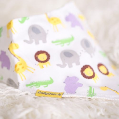 Jungle dribbleboo bandana bib