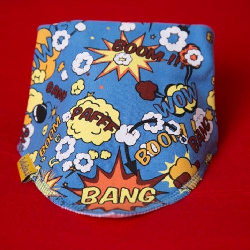 Superhero dribbleboo bandana bib