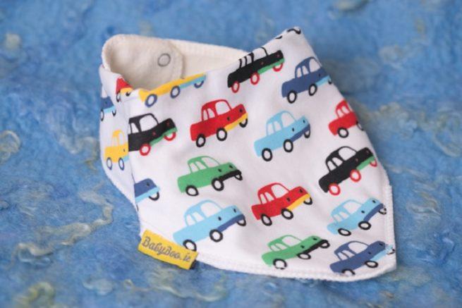 Cars dribbleboo bandana bib
