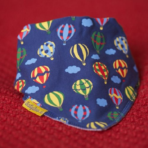 Hot air balloons dribbleboo bandana bib