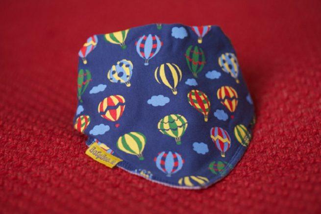 Hot air balloons dribbleboo bandana bib