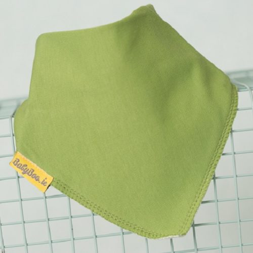 Just green dribbleboo bandana bib