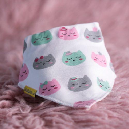 Kittens DribbleBoo bandana bib