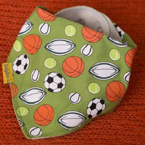 Sports dribbleboo bandana bib
