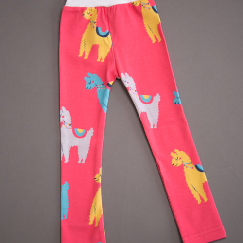 Llamas organic cotton leggings