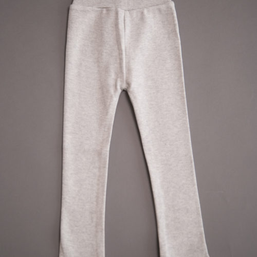 Grey organic cotton leggings
