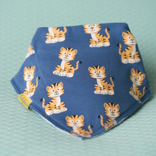 Cheeky Tigers DribbleBoo bandana bib