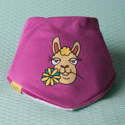 Lottie Llama dribbleboo bandana bib