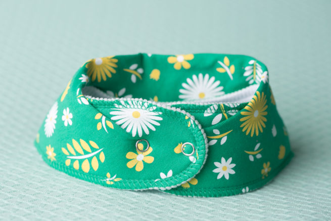 Summer flowers dribbleboo bandana bib