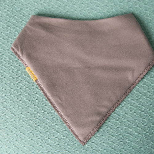 Taupe BiggerBoo additional needs bib