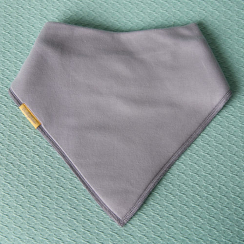 Grey BiggerBoo additional needs bib