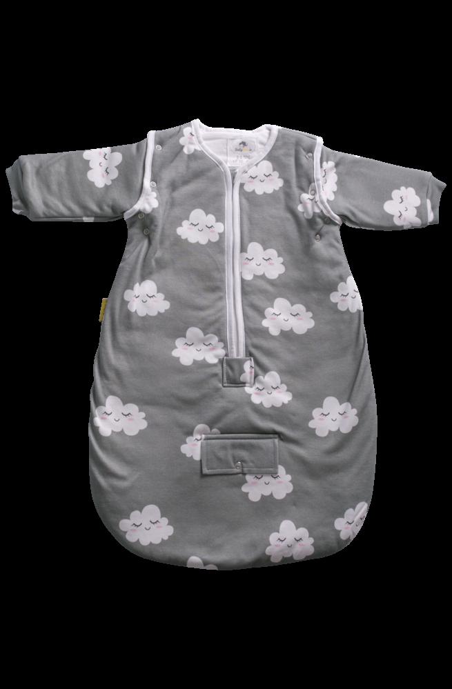 Sleepy clouds organic cotton SnuggleBoo sleeping bag (2.5 tog)